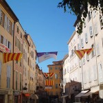 Grasse in the south of France