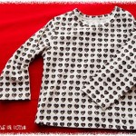 Long sleeve T-shirts with hearts motif