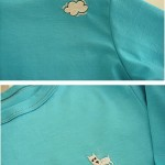 T-shirts with embroideries