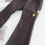 Boy's trousers with star embroideries