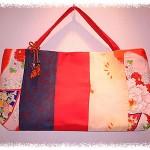 Antique Kimono Bag