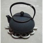"""New tea pot """"Nambu ironware"""""""