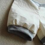 Test making for pumpkin pants