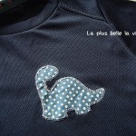 Dinosaur machine applique – an idea –