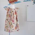 Fuwa Fuwa dress in Japanese style fabric