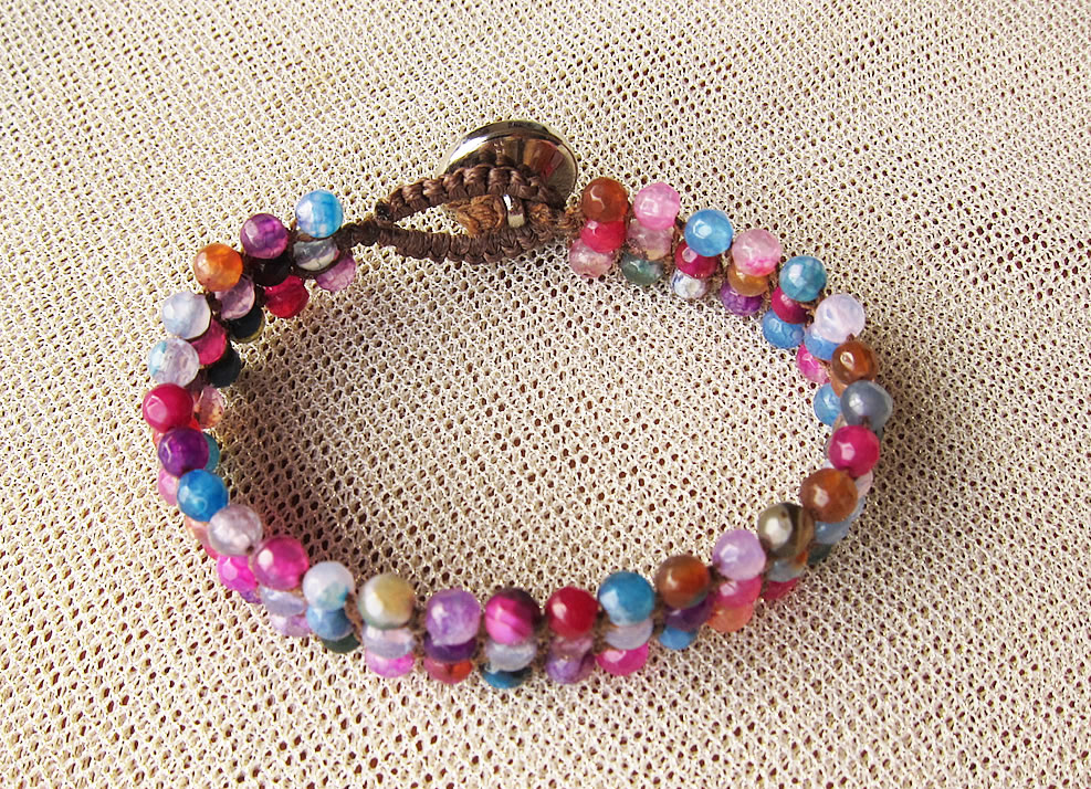 bracelet colorful stone 1