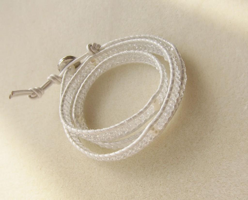 wrap blaceret white
