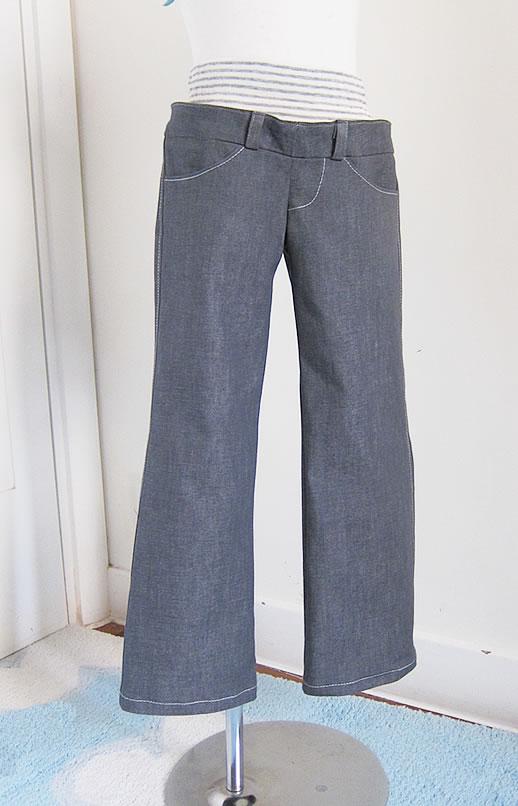 double waist pants