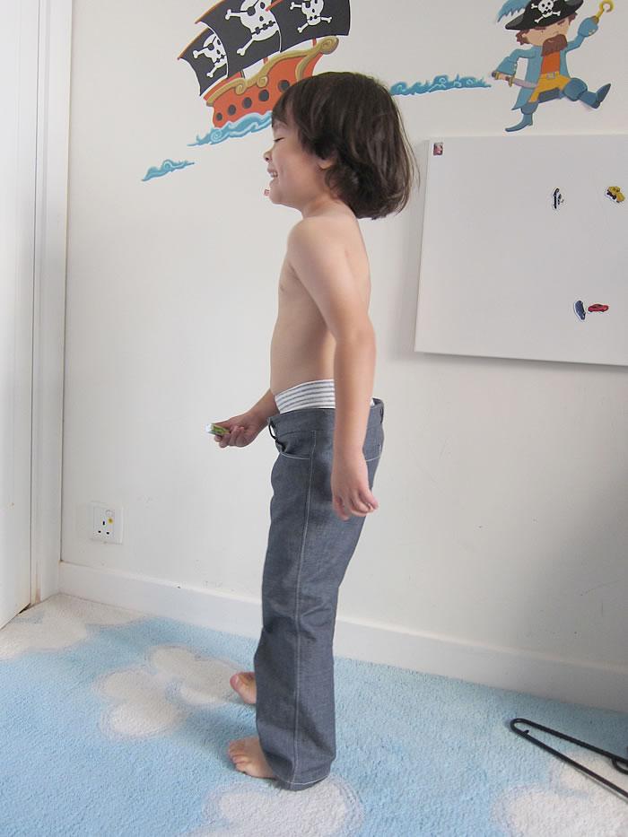 double waist pants1