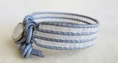 wrap blaceret light blue
