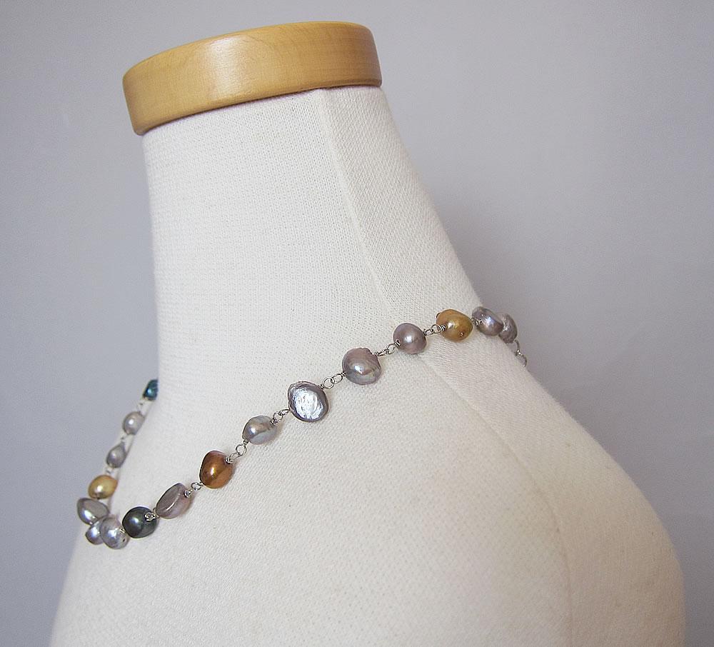 potato shell necklace1