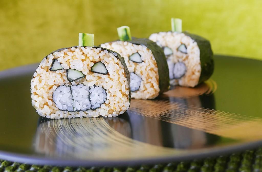 Sushi kabocha