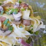Tsuyu cream pasta