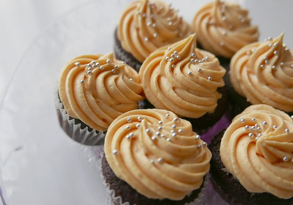Cupcake choco orange cream