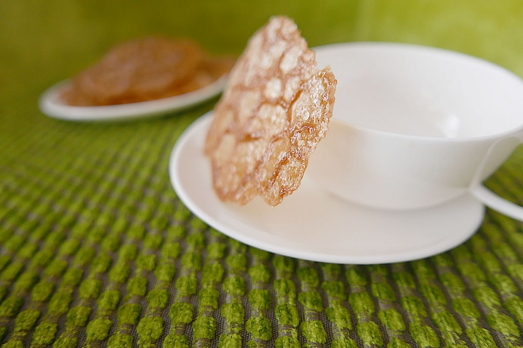 coffee lace cookie2