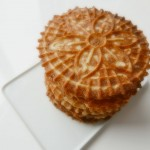 Coconut pizzelles