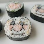 CREATIVE SUSHI ROLL / Anpan-man and heart