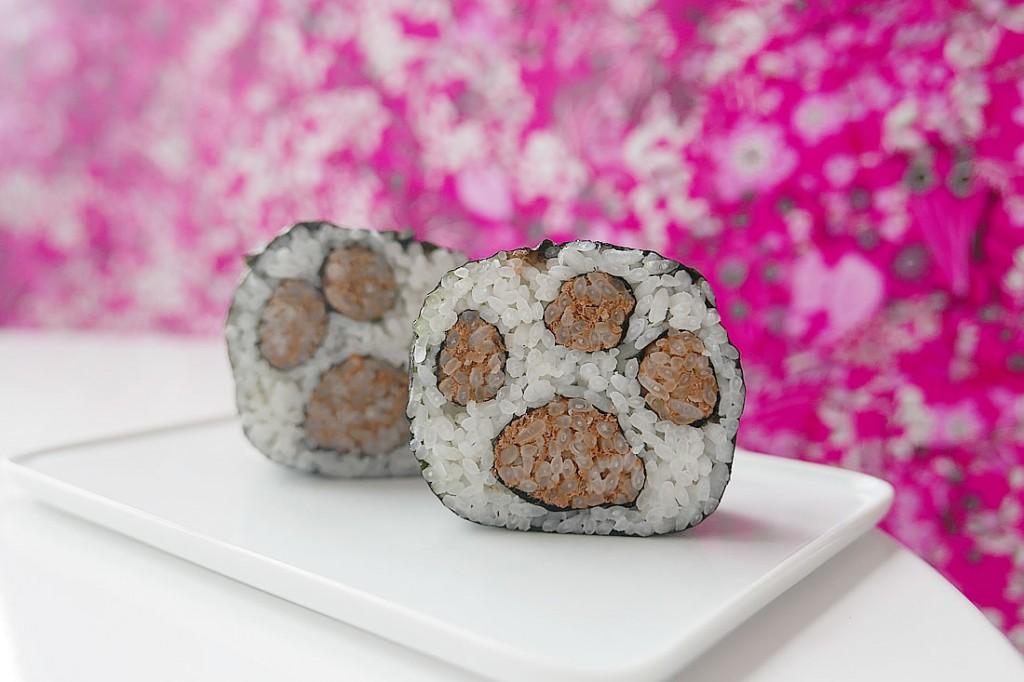 sushi foot stamp