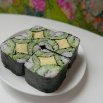 CREATIVE SUSHI ROLL / Japanese pattern