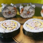 CREATIVE SUSHI ROLL / Cats and Rose