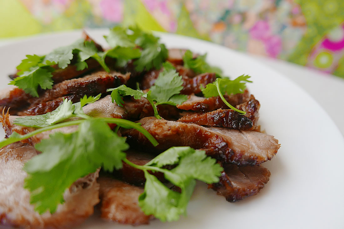 Thai grilled pork | Dans la lune