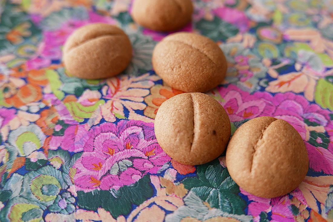 Coffee beans cookie – soft
