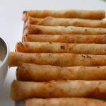 Vegetable spring roll – potato