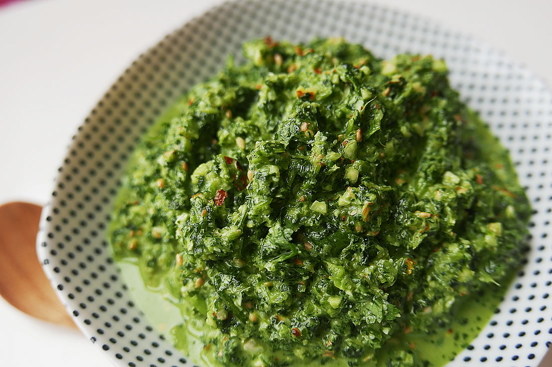 Watercress paste