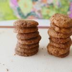 Hazelnut praline cookies