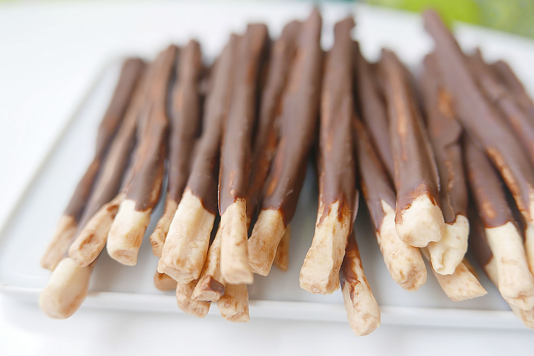 Homemade pocky