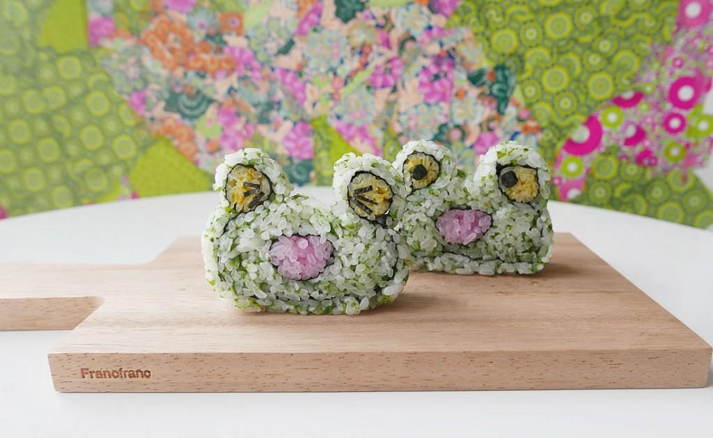 sushi kaeru