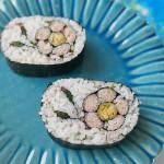 CREATIVE SUSHI ROLL – Plum ume blossom