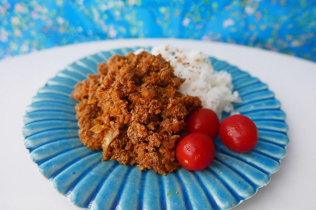 Vegetable keema curry
