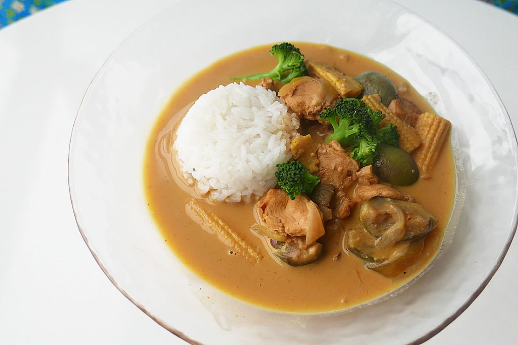yellow curry2