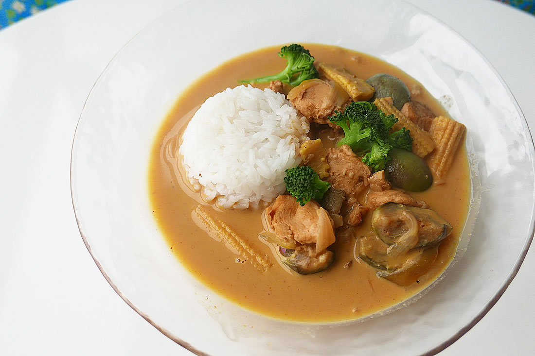 Easy yellow thai curry