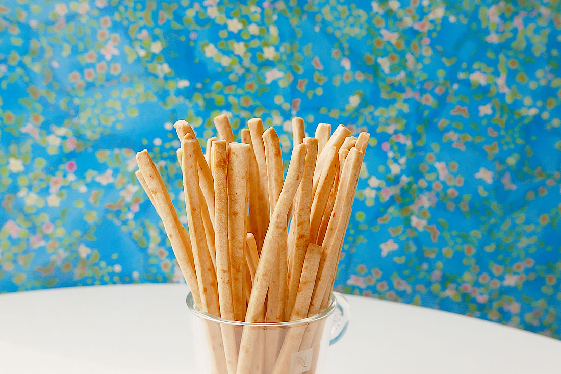 Homemade pocky lightly salted