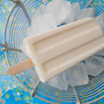 Yogurt ice cream pop