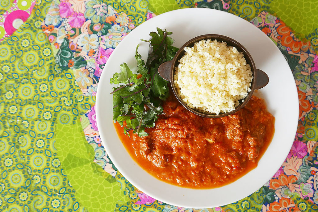 Creamy tomato curry – pressure cooker