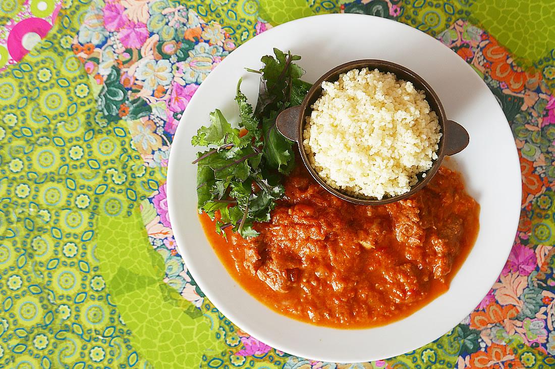 Creamy tomato curry – pressure cooker