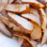 Thai grilled pork neck / Kor Moo Yang