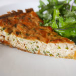 Wafu salmon quiche