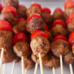 Meatball sticks