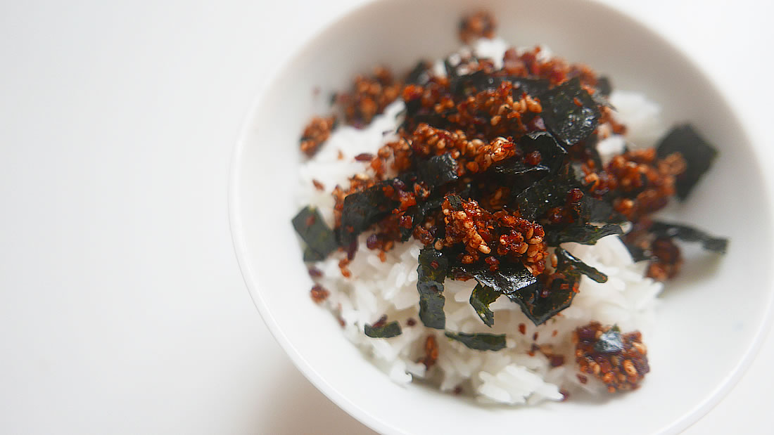 Bacon furikake / Japanese rice seasoning