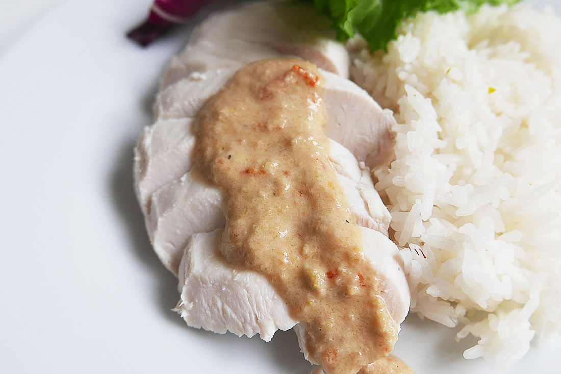 Non-fatty chicken