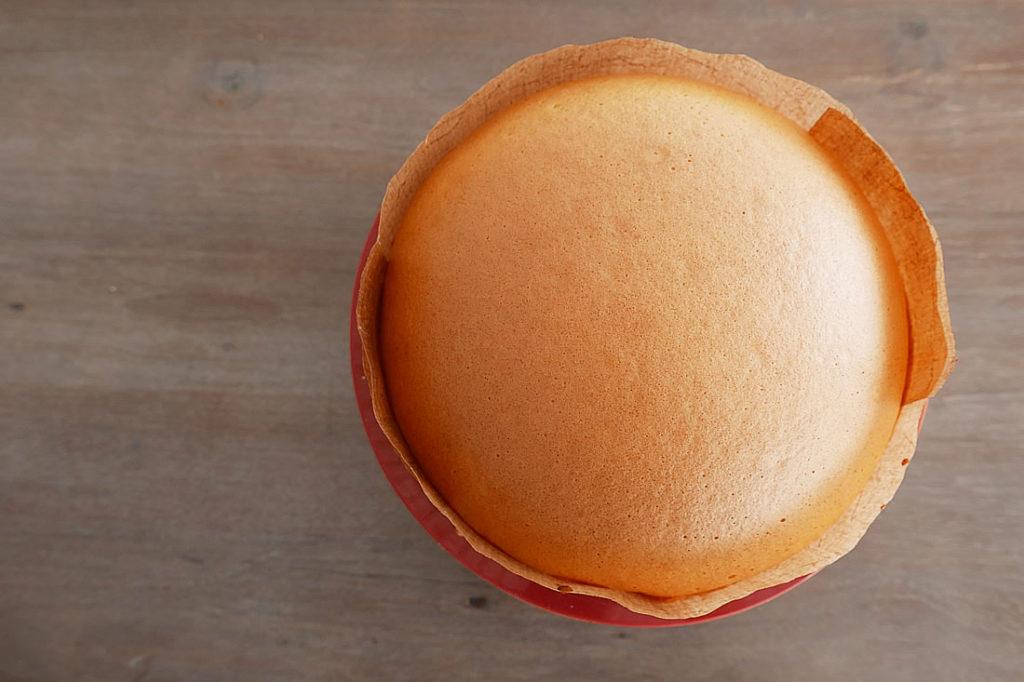 Easy souffle cheesecake - 18cm circle