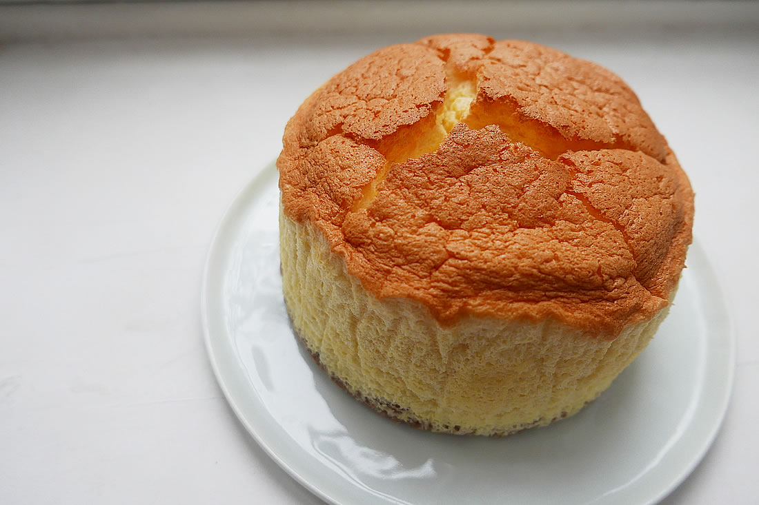 Easy souffle cheesecake - 18cm circle