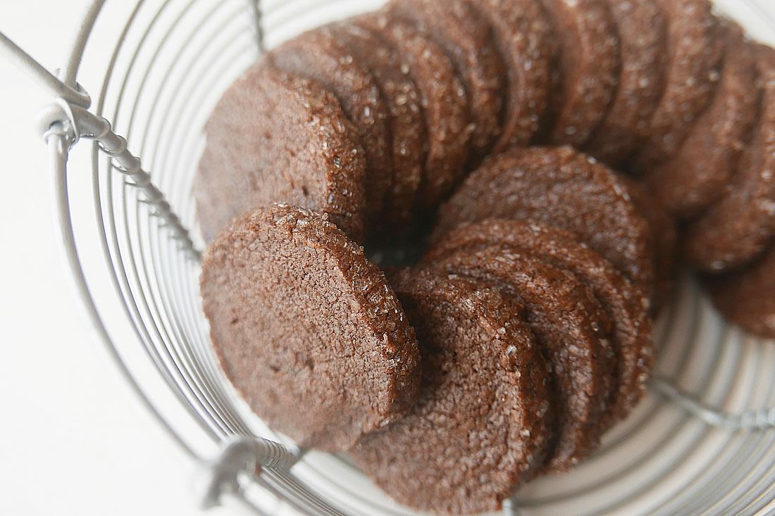 Coffee Sablé – biscuit