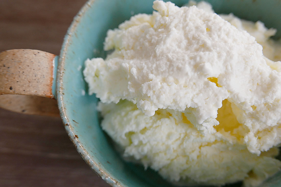 Egg white ice cream - no machine