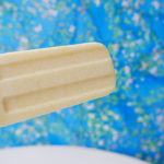 Pineapple ice pop