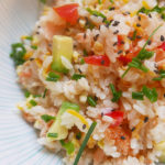 Colorful sushi (vinegar rice)